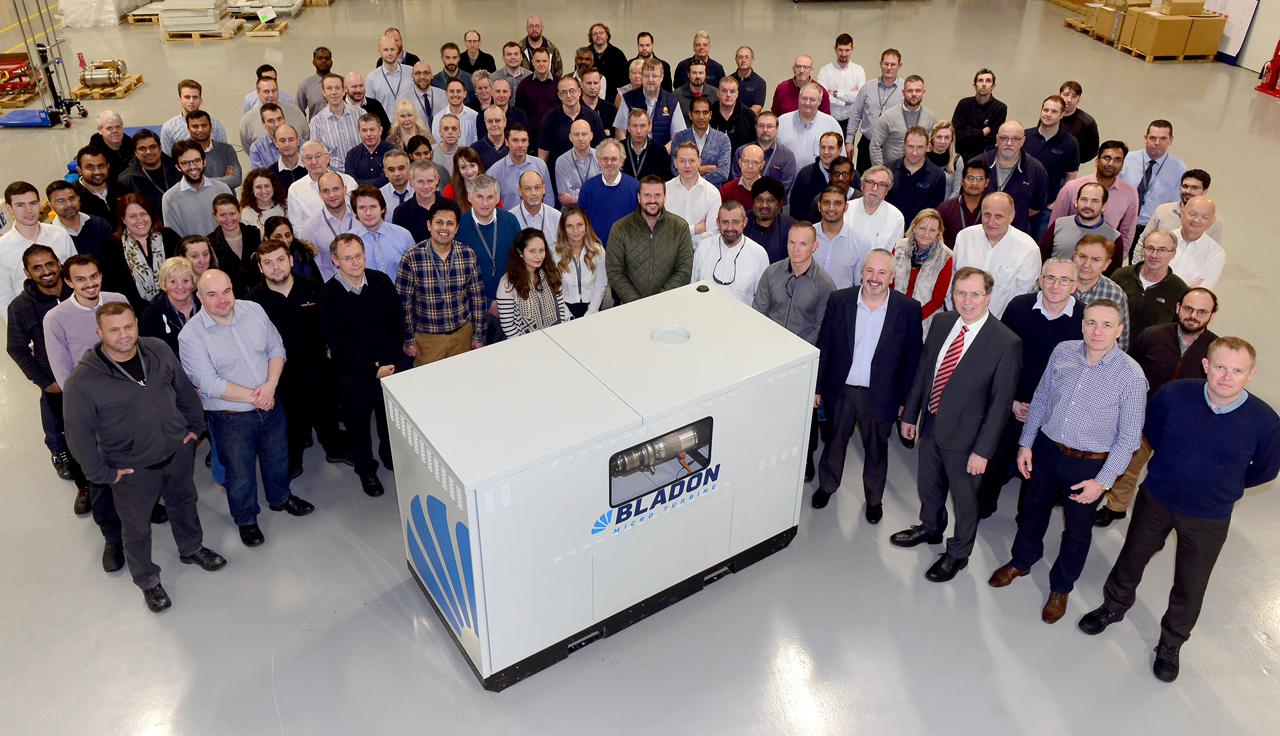 Bladon Turbine | Best in Class Generators | FPT Generators | Power Zone